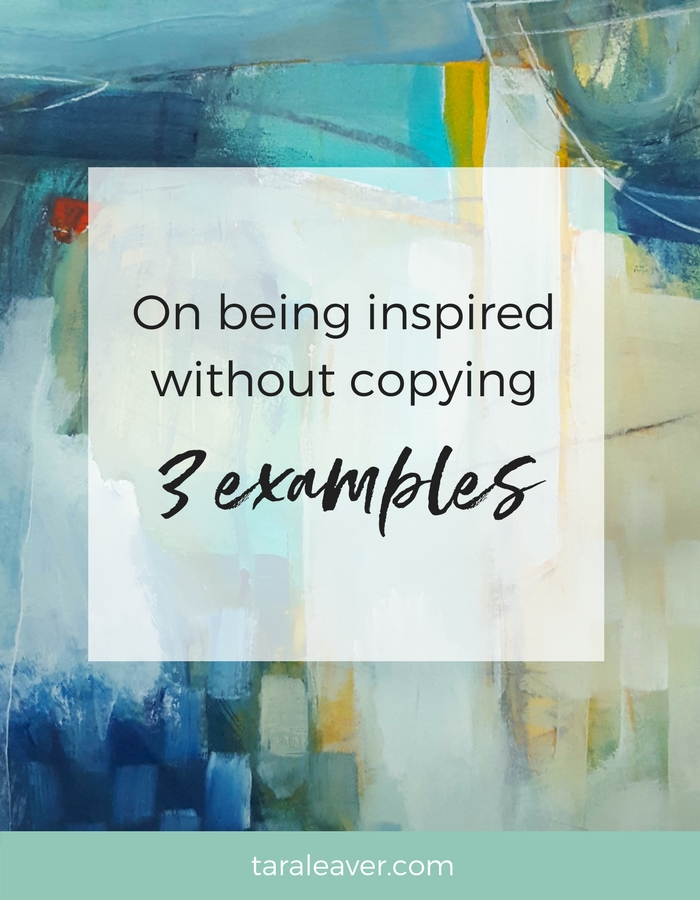 On being inspired without copying - 3 examples from my own work and inspirations