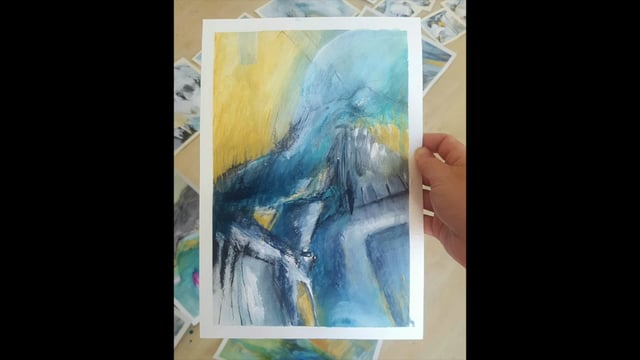 The 7 Day Mini Painting Series Challenge :: A video of day one