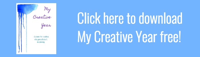 Click here to download My Creative Year, free!