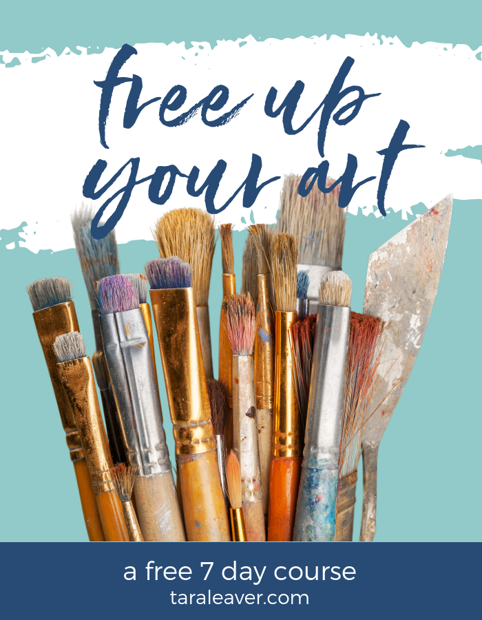 Free Up Your Art - free 7 day course