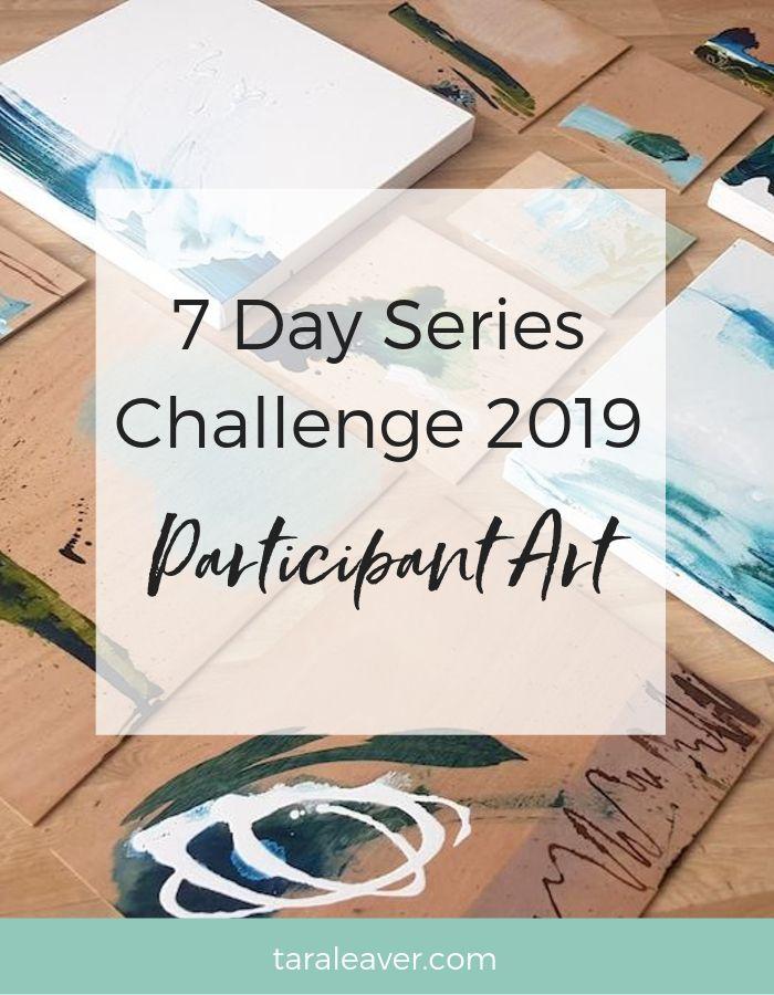 7 day series challenge 2019 participant art
