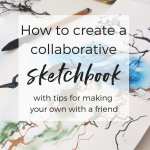 How to create a collaborative sketchbook