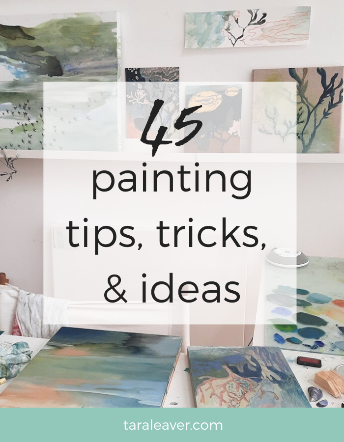 45 painting tips, tricks and ideas