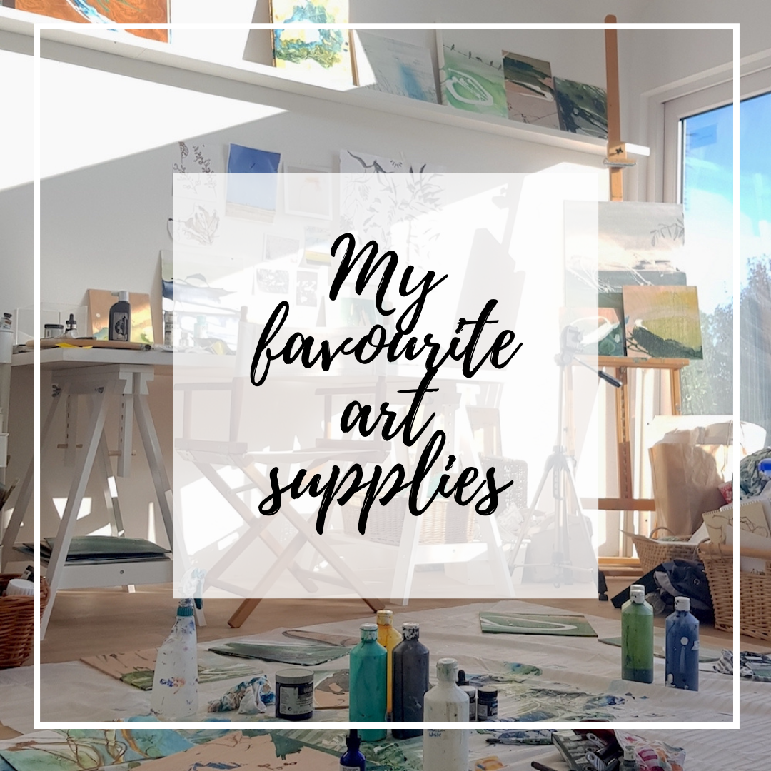 Click for my favourite art supplies