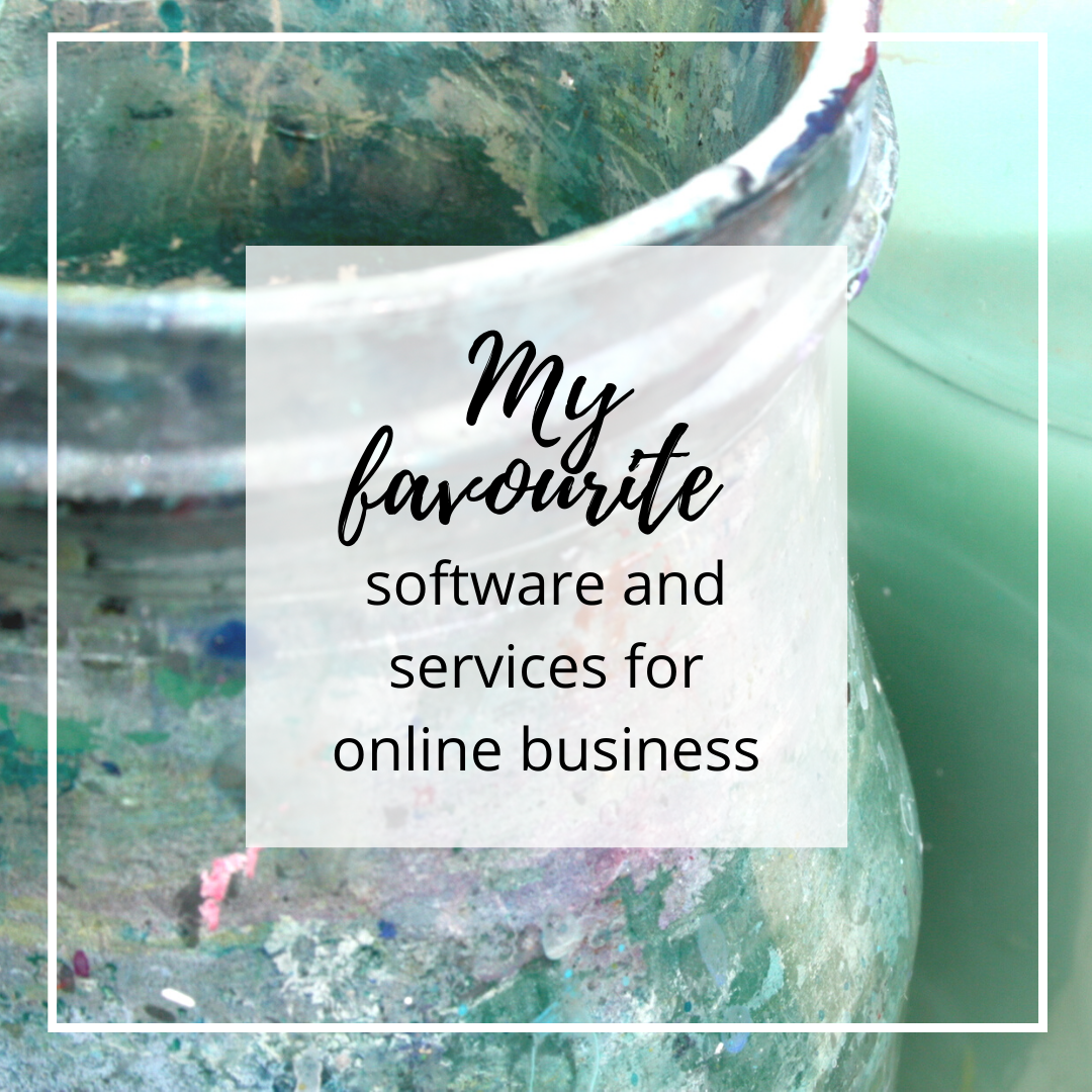 My favourite software and services for online {art} business