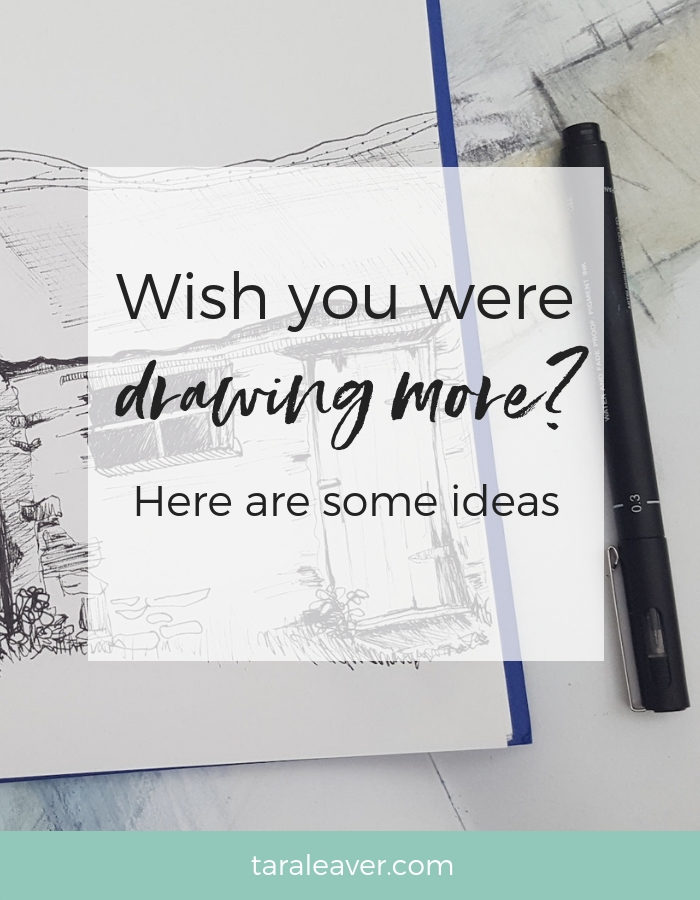 Wish you were drawing more? Here are some ideas